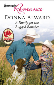 A Family for the Rugged Rancher - Cover