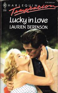 Book Cover - Lucky in Love