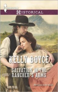 Cover - Salvation in the Rancher's Arms
