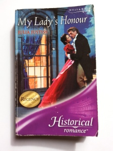 My Lady's Honour - Front Cover