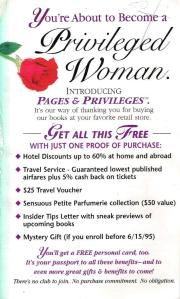 Privileged Woman Insert 1